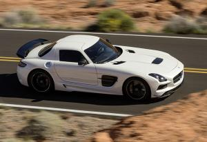 The Mercedes-Benz SLS AMG Coupe Black Series