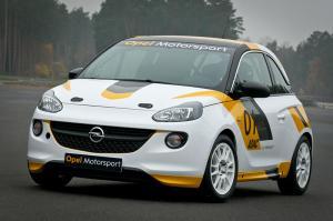 Opel returns to motorsport with the Opel (Vauxhall) Adam