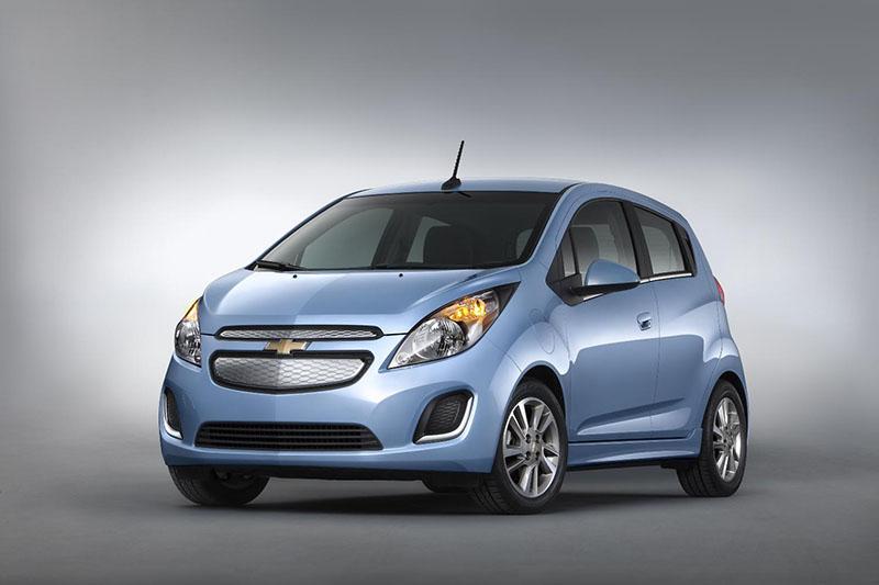 2014 Chevrolet Spark EV unveiled