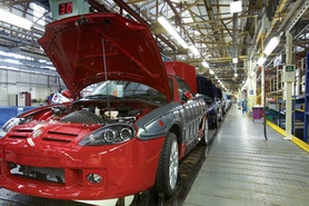 MG Rover production returns to UK under NAC