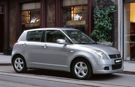 Lower emissions and congestion charge exemption for Suzuki Swift 1.3-litre DDiS