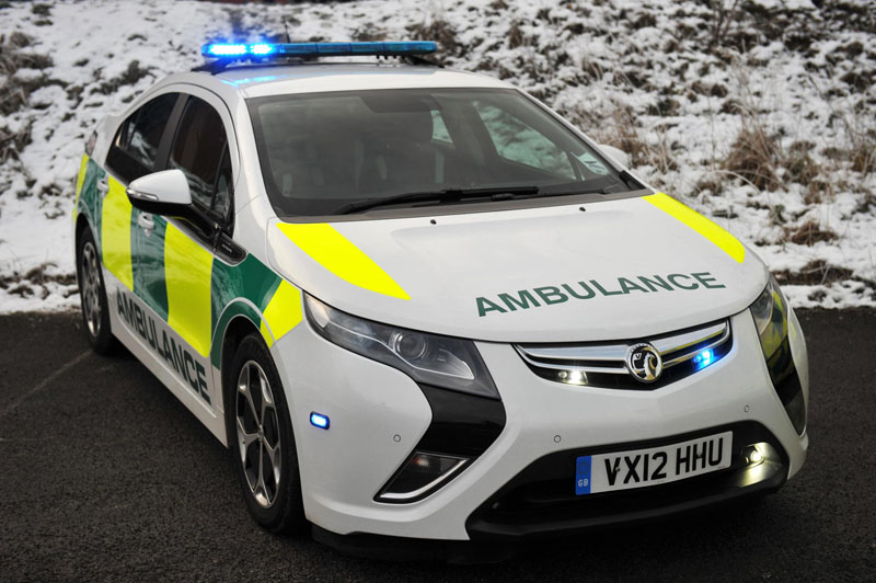 Vauxhall Ampera to be trialled in Ambulance Service
