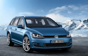 The new 2013 VW Golf Estate