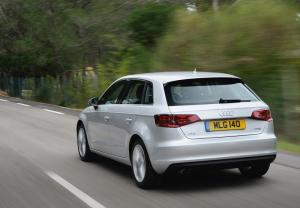 The Audi A3 Sportback 1.4 TFSI with Cylinder-on-Demand technology