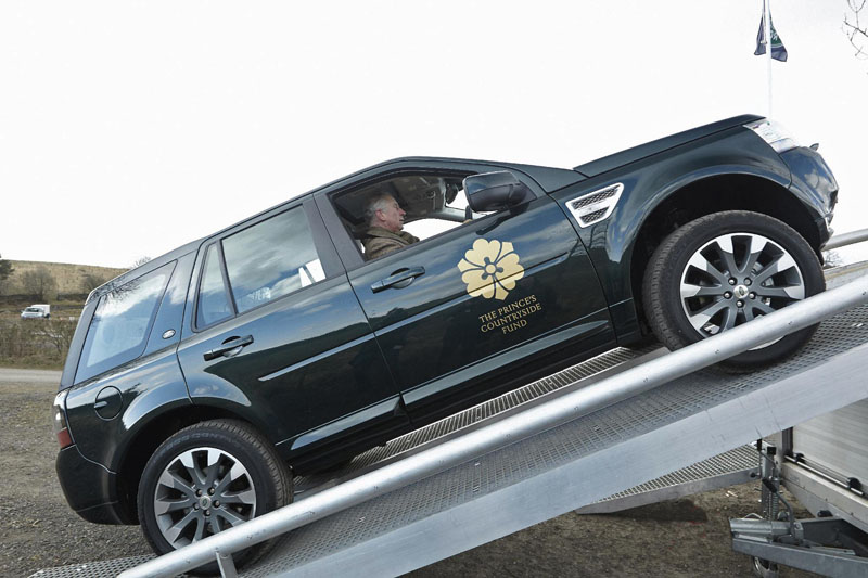 HRH The Prince of Wales announces Land Rover Bursary in partnership with The Countryside Fund
