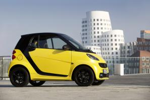 Smart fortwo cityflame edition available from £10,995