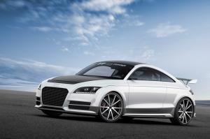 The Audi TT ultra quattro concept