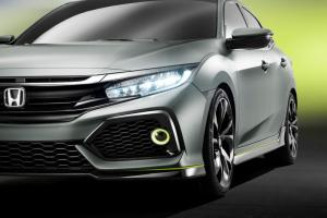 2017 Honda Civic Hatchback Prototype
