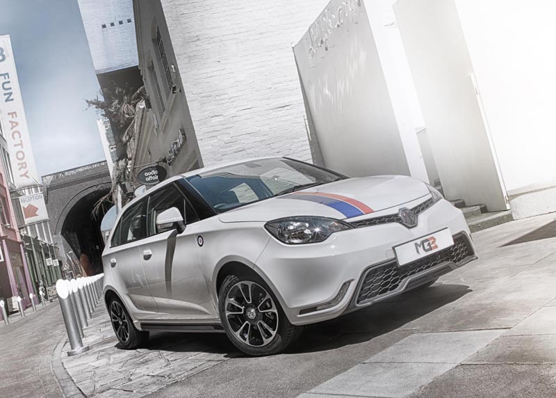MG 3 to be priced from £8,399, on sale September