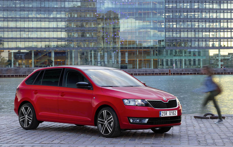 New Skoda Rapid Spaceback officially unveiled at Frankfurt