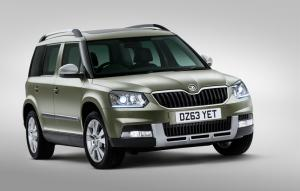 2014 Skoda Yeti to be priced from £16,600