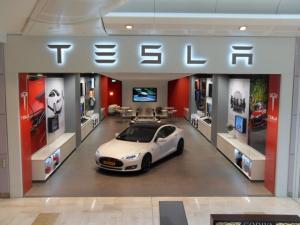 Tesla Motors opens new store in Westfield, London