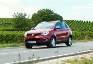 2014 SsangYong Korando receives new Giugiaro design