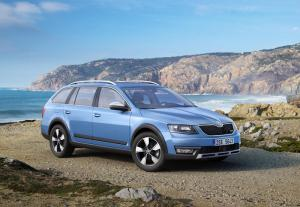 New Skoda Octavia Scout to debut at Geneva