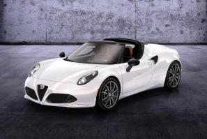 Alfa Romeo 4C Spider Design Preview