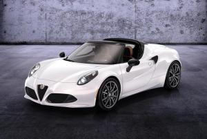 Alfa Romeo 4C Spider Design Preview