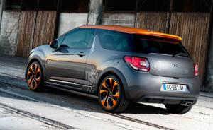 The limited edition Citroen 200hp DS3 Racing