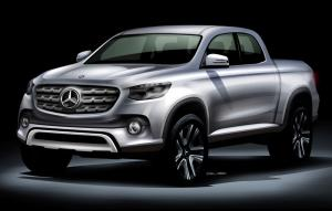 Mercedes-Benz to produce a pickup