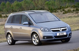 New second generation Vauxhall Zafira