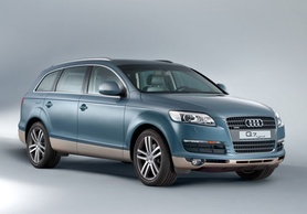 Petrol-electric hybrid version of new Audi Q7 SUV