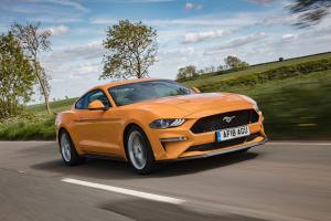 Ford Mustang Fastback in Orange Fury