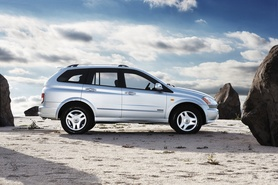 Ssangyong unveils new Kyron 4×4 Sports Activity Vehicle