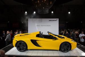 McLaren 12C Spider makes public debut