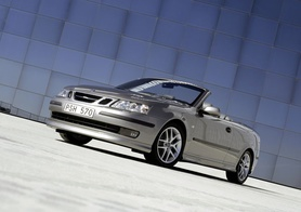 Saab 9-3 Convertible named UK's most secure open-top car