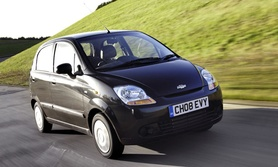 Chevrolet Matiz 0.8S now in Band B road tax