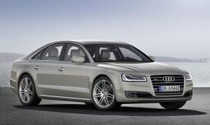 New Audi A8, revised engines, new lights