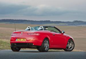 Alfa Brera Coupe and Alfa Spider get 1750 TBi and 2.0 JTDM diesel engines