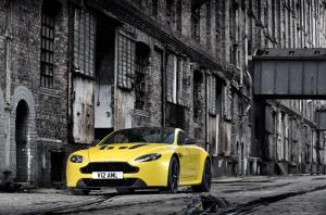 The new Aston Martin V12 Vantage S