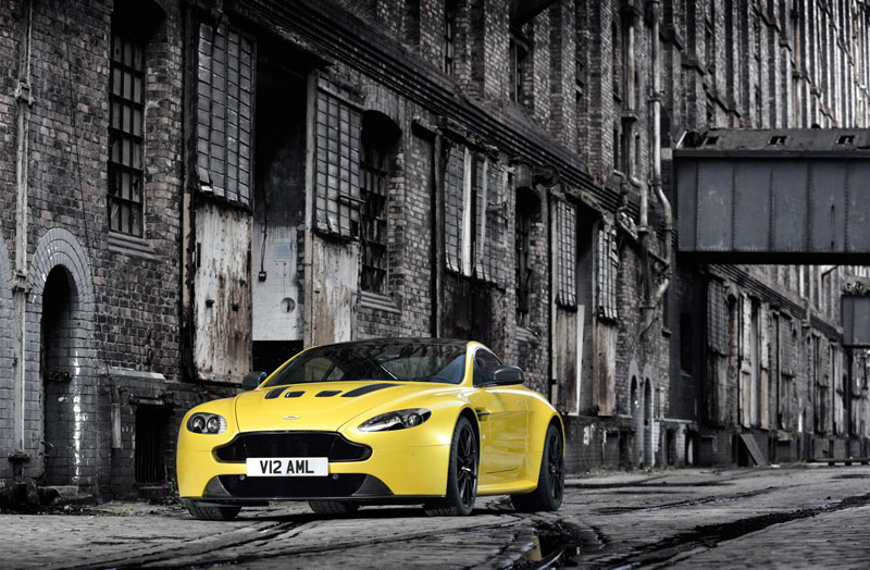 The new Aston Martin V12 Vantage S