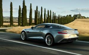 Aston Martin unveils the new Vanquish