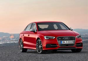 The new 2013 Audi A3 Saloon and 2014 S3 Saloon