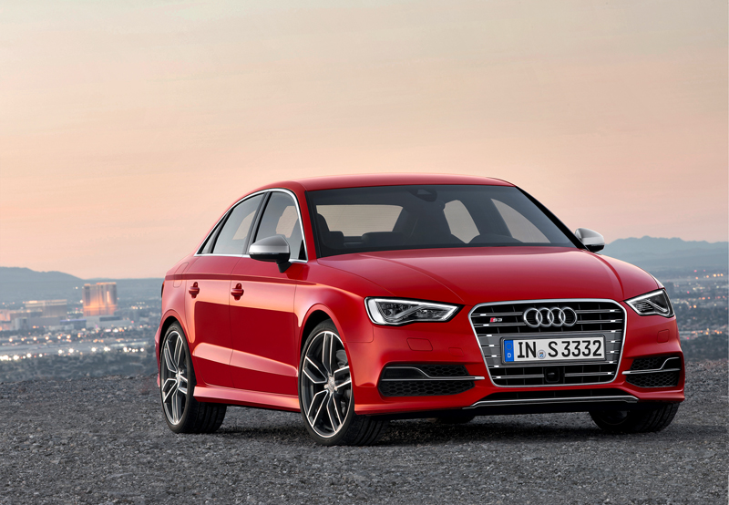The new Audi S3 Saloon