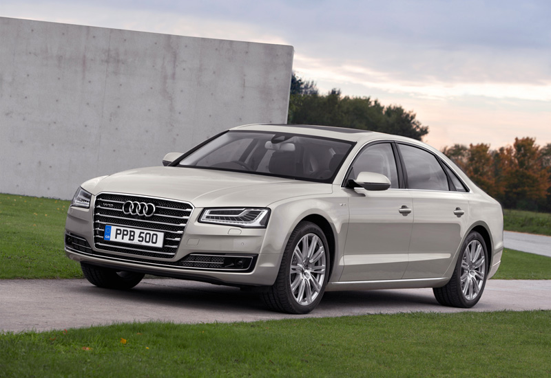 2014 Audi A8 available to order now, priced from £58,800