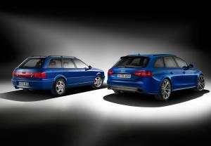 Audi Avant RS2 and Audi RS4 Avant Nogaro selection