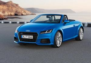 2015 Audi TT and TTS Roadster unveiled,  priced from £31,955