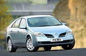 Nissan updates the Primera