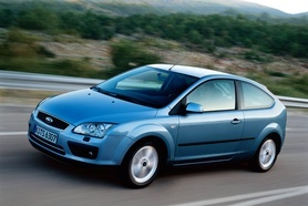 First pictures of the new 2005 Ford Focus