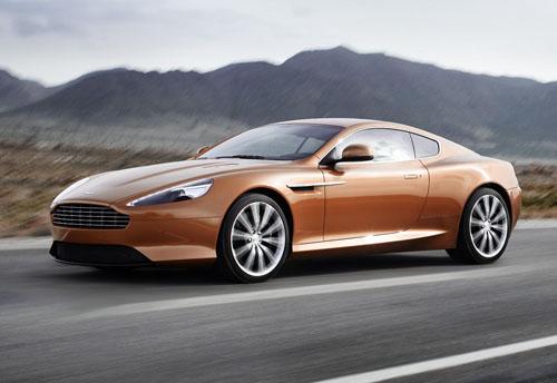 The new Aston Martin Virage