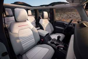 2021 Ford Bronco seats