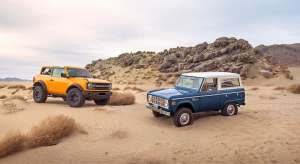 2021 Ford Bronco, 1966 Ford Bronco