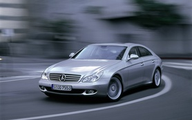 Four-door Mercedes CLS-Class Coupe launched