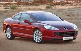 Peugeot unveils new 407 Coupe Concept at Geneva