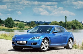 Top prices paid for nearly new Mazda RX-8s