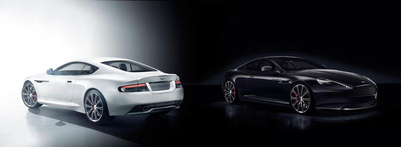 Aston Martin DB9 Carbon Black and Carbon White