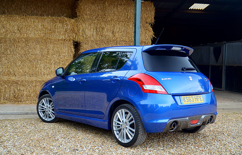 suzuki swift sport 5 door review testdriven. Black Bedroom Furniture Sets. Home Design Ideas