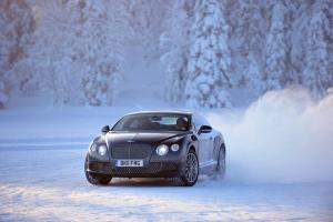 Bentley's ice driving programme - Power On Ice - returns for 2013